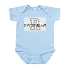 Letter R: Rotterdam Infant Creeper