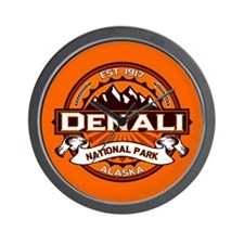 Denali Pumpkin Wall Clock