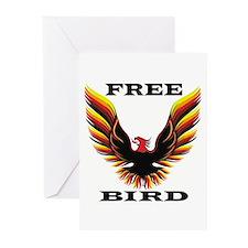 Free Bird Greeting Cards (Pk of 10)