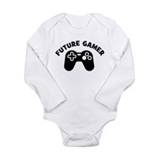 Cute Kids xbox Long Sleeve Infant Bodysuit