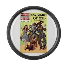 The Wizard of Oz Large Wall Clock