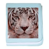 White Tiger 4 baby blanket