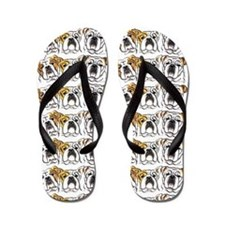 English Bulldog Lover Flip Flops