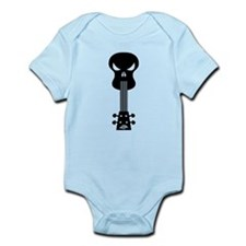 Skull Ukulele Infant Bodysuit