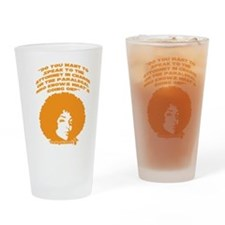 Paralegal In Charge [Groovy E Drinking Glass