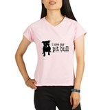 Funny Bull dog Performance Dry T-Shirt