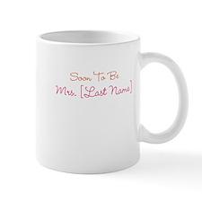 Orange & Pink Custom Soon to Be Mrs. Mug