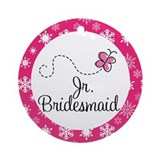 Junior Bridesmaid Christmas Bridal Ornament