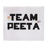 Team Peeta Throw Blanket