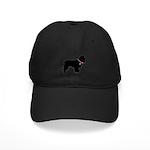 Cocker Spaniel Breast Cancer Support Black Cap