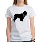 Cocker Spaniel Breast Cancer Support Women's T-Shi