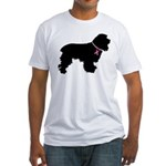 Christmas or Holiday Cocker Spaniel Silhouette Fit
