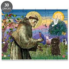 St Francis / Affenpinscher Puzzle