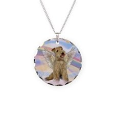 Lakeland Terrier Angel Necklace