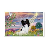 Cloud Angel & Papillon 22x14 Wall Peel