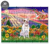 Autumn Angel / Pit Bull Puzzle
