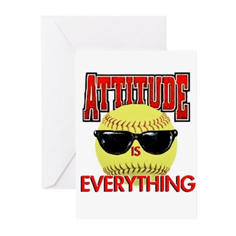 Attitude is Everything Greeting Cards (Pk of 10)