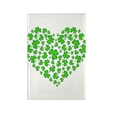 My Irish Heart Rectangle Magnet (10 pack)