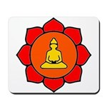 Sitting Lotus Mousepad