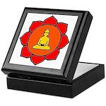 Sitting Lotus Keepsake Box