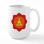 Sitting Lotus Large Mug