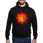 Sitting Lotus Hoodie (dark)