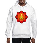 Sitting Lotus Hooded Sweatshirt