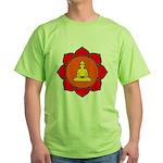 Sitting Lotus Green T-Shirt