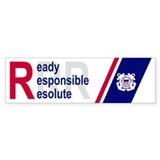 Coast Guard Auxiliary <BR>Bumper Sticker 2