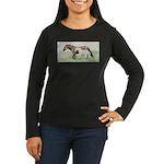 Future Shadow Women's Long Sleeve Dark T-Shirt