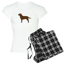 Chocolate Labrador Pajamas