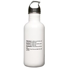 Car handling terms Water Bottle