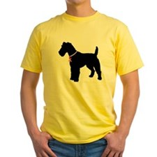 Fox Terrier Breast Cancer Support T