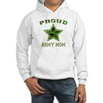 Proud Army Mom Hooded Sweatshirt