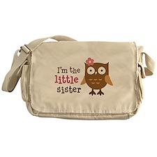 Little Sister - Mod Owl Messenger Bag
