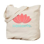 Namaste Lotus Tote Bag