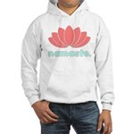Namaste Lotus Hooded Sweatshirt