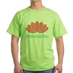 Namaste Lotus Green T-Shirt