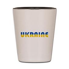 Ukraine Shot Glass