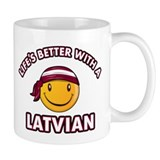 Cute Latvian design Mug
