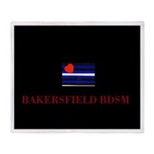 Bakersfield BDSM Throw Blanket