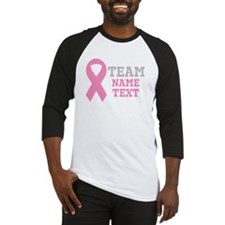 Personalize Breast Cancer Baseball Jersey