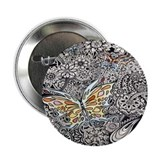"Butterfly Ink 2.25"" Button (100 pack)"