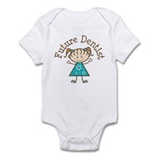 Future Dentist Girl Infant Bodysuit