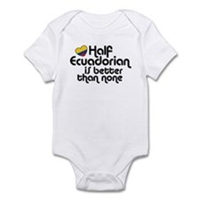 Half Ecuadorian Infant Bodysuit