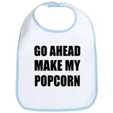 Make My Popcorn Bib