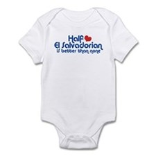 Half El Salvadorian Infant Bodysuit