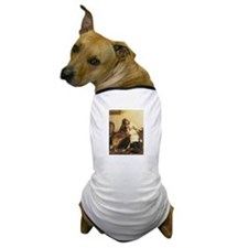 Girl and Collie Dog T-Shirt