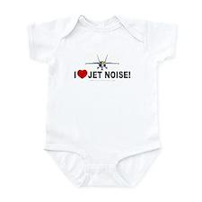 I Love Jet Noise Infant Creeper