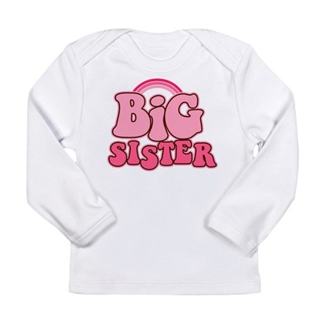 Retro Big Sis Long Sleeve Infant T-Shirt